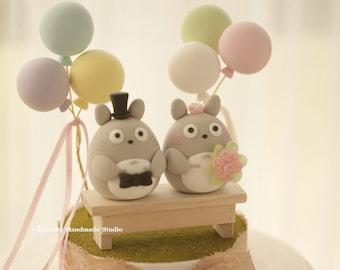 cake topper---Custom Order Deposit for the lovely Wedding Cake Topper (K102)
