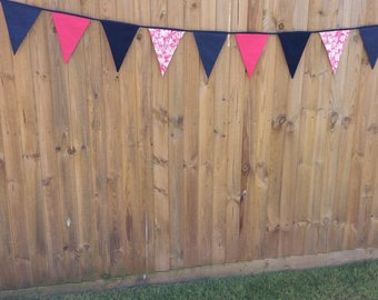 Hand stiched bunting