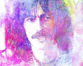 George Harrison, The Beatles, And I Say, print, poster