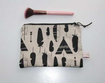 Tipi Collection, medium size pouch, clutch bag, wallet, make-up bag