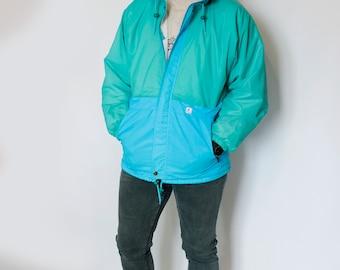 Chic jacket \ windbreaker \ raincoat for spring k-way m-l