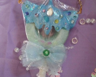 Unicorn fairy kei necklace