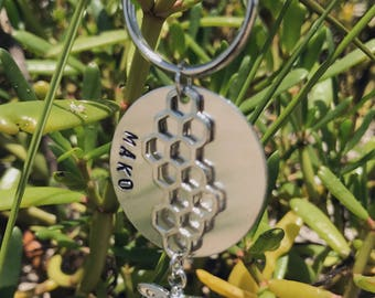Save The Bees Tag - Honeybee Jewelry- Bee Dog Tag