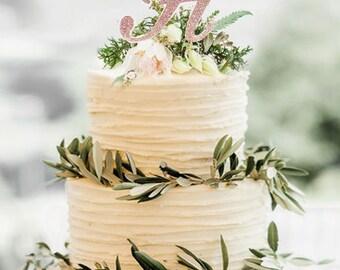 More Colors. Monogram Cake Topper ...