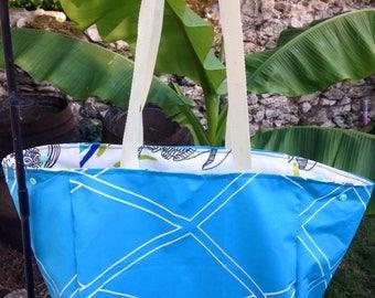 Beach bag, city, market, pool