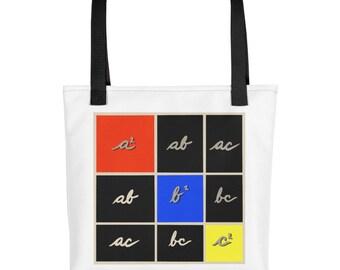 Tote bag - Montessori Trinomial Cube
