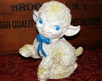 Vintage Lamb Sheep Rubber Squeaky Toy