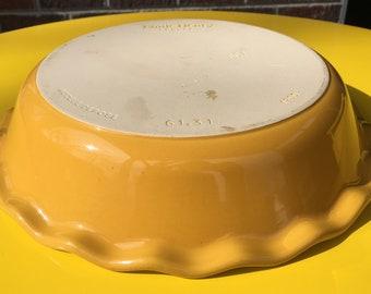 Emile Henry, France Ceramic Pie Plate