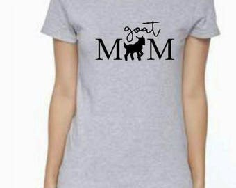 Goat mom shirt pet mom fur baby baby goat shirt kid