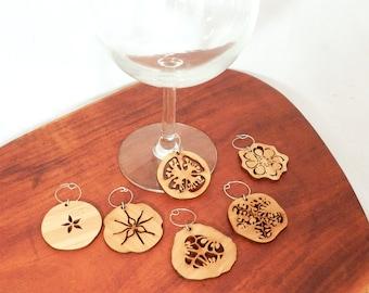 Fruit Slice Wine Charms