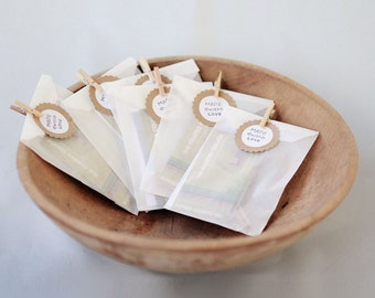Glassine Bags set of 150  3 1/4  x 4 5/8 || Wedding Favor Bags, Treat Bags, Business Card Envelopes
