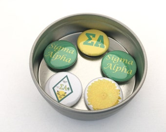 Sigma Alpha Magnet Set