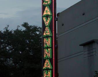 Savannah Print, Savannah Georgia Photography,  Fine Art Photography of Georgia, GA Prints, Photography Print Savannah Georgia