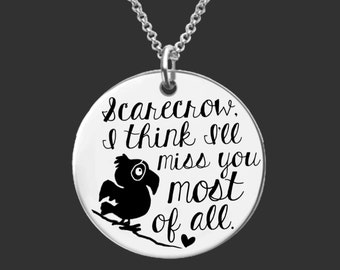 Miss You Gift | Goodbye Gift | Going Away Gifts | Missing You Gift | Scarecrow | Personalized Gifts | Korena Loves