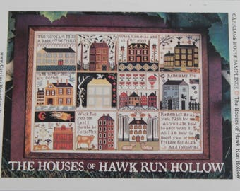 The Houses of Hawk Run Hollow by Carriage House Samplings