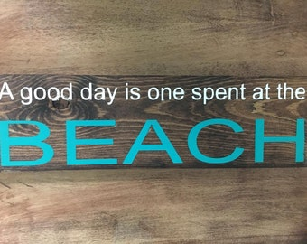 A Good Day is One Spent at the Beach