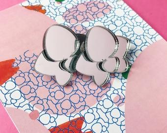 ORCHID EARRINGS | plexiglass | perspex