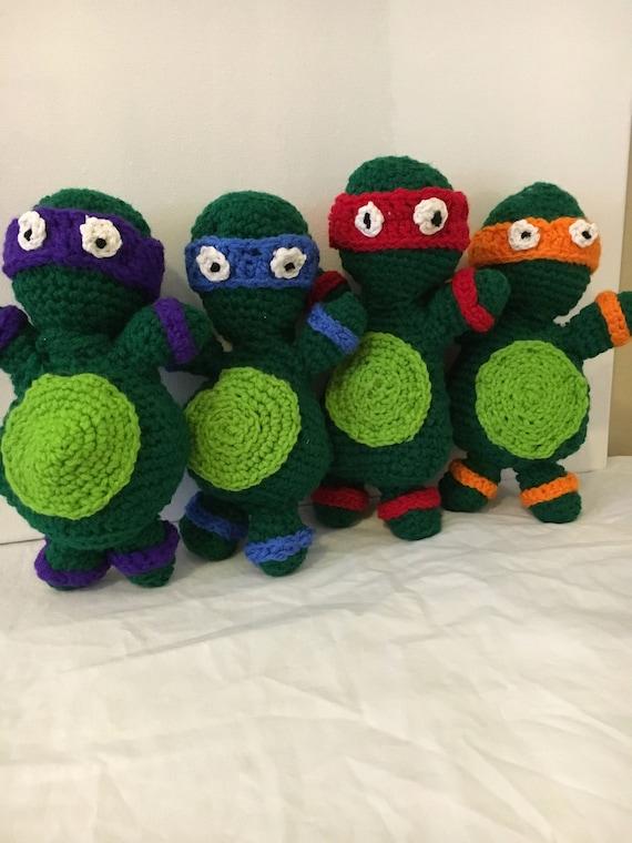 Ninja Turtle häkeln