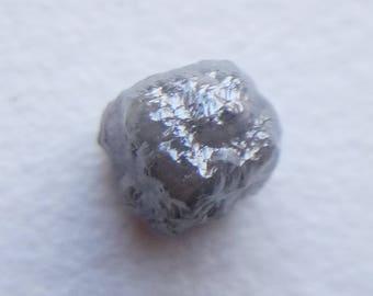 1.60 Cts Grey Rough Diamond Cube, 5.5mm Natural Grey Rough Diamond Cubes, Loose Diamonds, Raw Diamond, Uncut Diamonds - PUSPD58