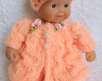 "Hand Knitted Dolls Clothes for 8""  OOAK  Doll (# 274)"