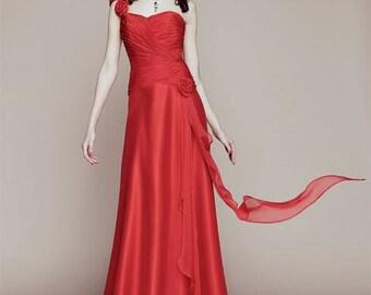 Dress DESSISLAVA, Chiffon evening gown, Cocktail dress, Evening dress, Elegant prom dress, Formal dress, Prom chiffon gown, Robe de cocktail