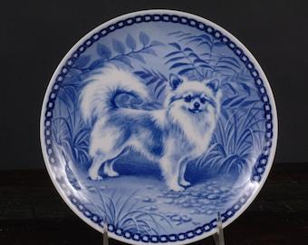 Tove Svendsen, Long Haired Chihuahua Plate, Original Hundeplatte