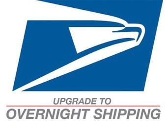 Shipping Overnight Upgrade - USPS Upgrade to Overnight Shipping