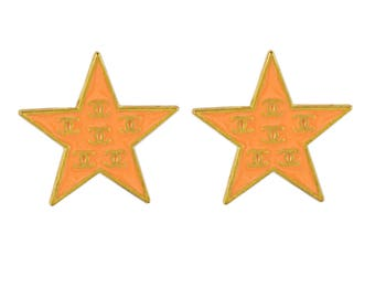 Chanel Star CC Earrings