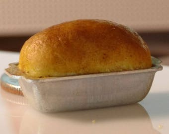 Traditional Loaf of Bread 1:12 Scale