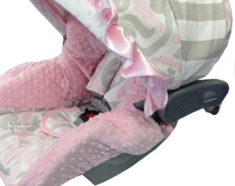 French Chic Infant Car Seat Cover