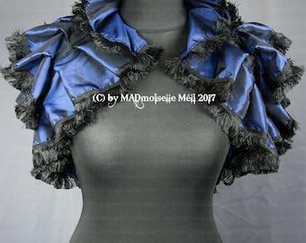 Steampunk shrug Bolero unique for the Victorian Gothic Lady