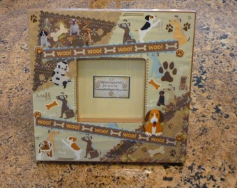 Unique Custom Designed Pet Frame