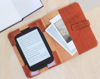 Kindle oasis 2017 case, Leather kindle Paperwhite cover, Kindle Voyage sleeve,  leather Kindle case, Kindle fire 7 8 hd case handmade T54