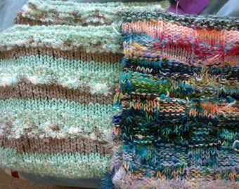 Hand Knit Baby or Pet Blankets