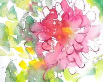 Fresh Pick No.227, limited edition of 50 fine art giclee prints from my original watercolor