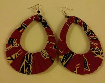 BEAUTIFUL ANKARA EARRINGS