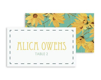 Place Cards, Place Card Template, Place Cards Wedding, Place Cards Printable, Wedding Place Card, Place Cards for Wedding, Wedding Reception