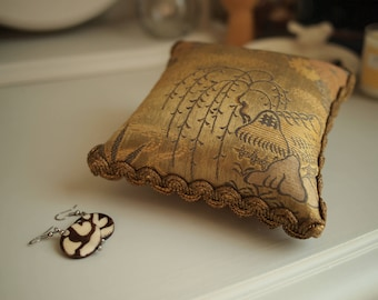 Antique Japanese Fabric Pin Cushion