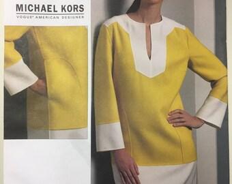 Vintage Sewing Pattern Vogue V1090 Michael Kors Dress (Out of Print)