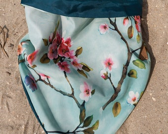 Summer collection 2018 Lulladogs dog bandana - cherry blossom