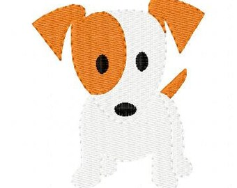 Embroidery Design, Dog Doggy Puppy  // Joyful Stitches