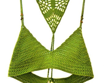 The Earth Crochet Top