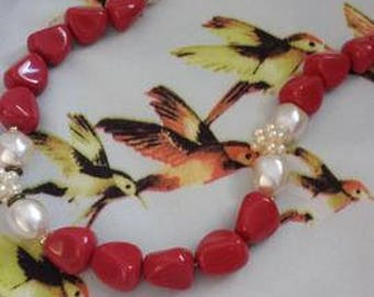 mid-century vintage necklace