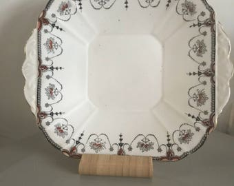1930s Melba bone china cake plate
