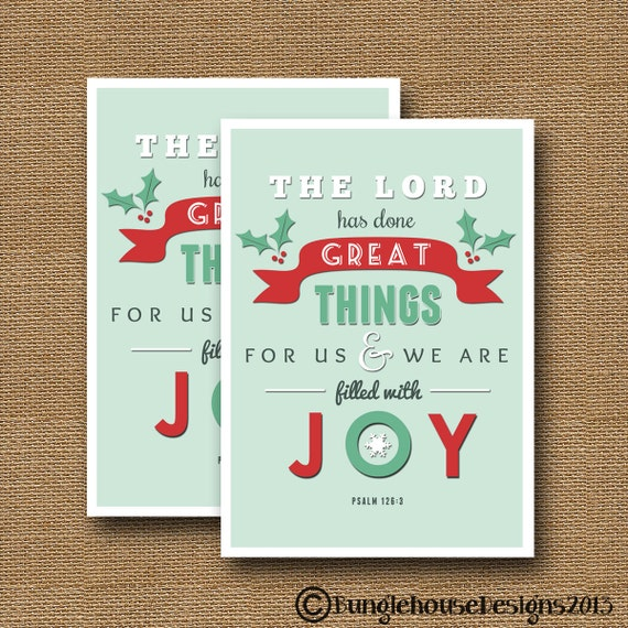 Retro christmas typography card diy printable filled retro christmas typography card diy printable filled with joy christian christmas scripture christmas bible verse instant download m4hsunfo Choice Image