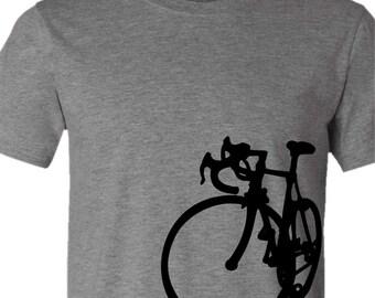 Bicycle T-shirt-La Bicicletta-Road Bike tshirt-more colors available-Cycling,bike tshirt,Bicycle tee,bike gift, cycling gift, men's gift