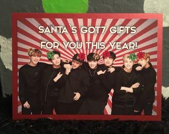 GOT7 Christmas Card Kpop
