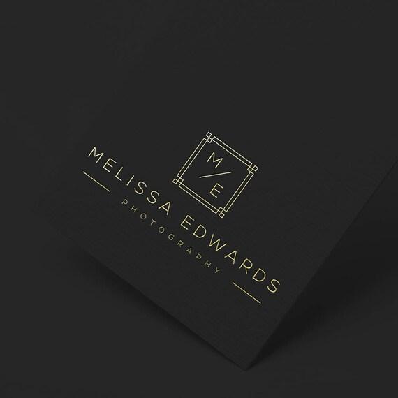 INSTANT DOWNLOAD, Logo, Initial Logo, Elegant Logo, Gold Business Logo, Cheap Logo, Minimalist Logo, Photographer Logo, Interior Design Logo