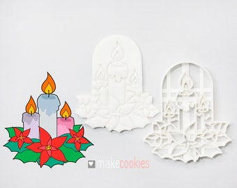 Candles Cookie Cutter