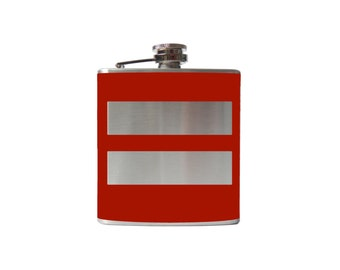 Marriage Equality Flask- alcohol, liquor, booze, hip- whiskey, Personalized Custom - YOU pick COLOR